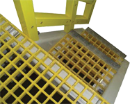 FRP-Grating-Stairs