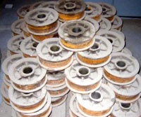 kiln-cart-greaseless-bearings