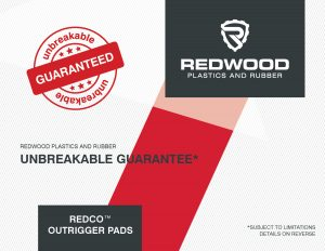 Redc Outrigger Pad Warranty