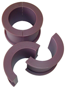 Redco Nylon bushings exhibit low friction and require no lubrication-sm