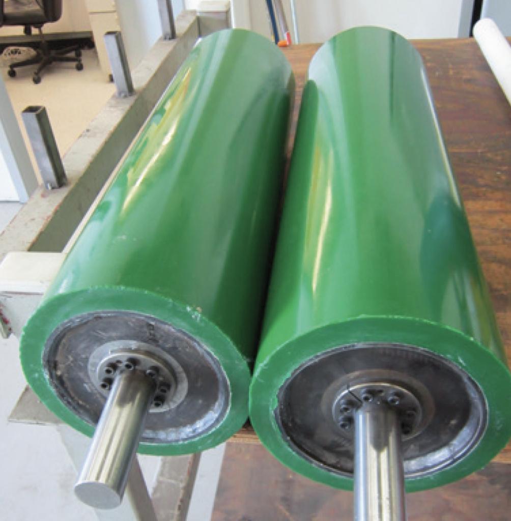 Industrial Roller Recoating