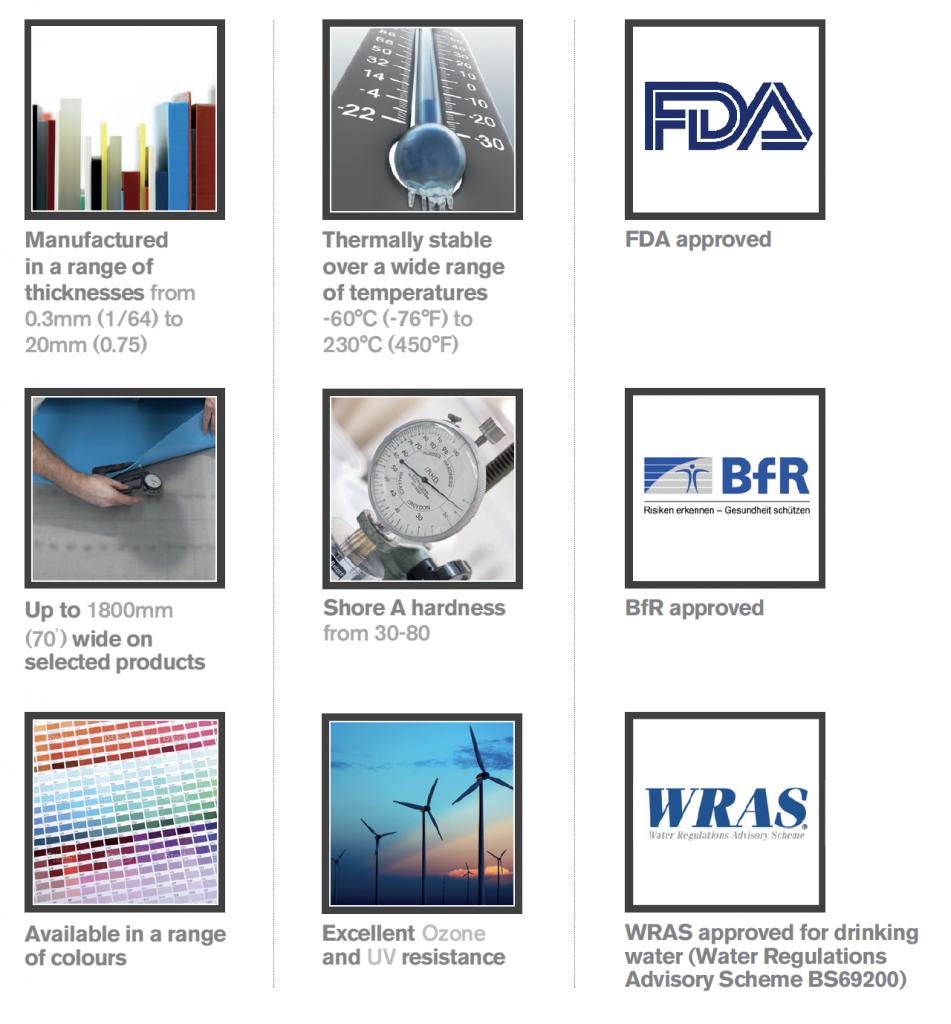 Redco Silicone Rubber - FDA