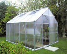 Greenhouses and Awnings: Twin-Wall Polycarbonate