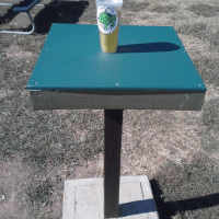 "Application Spotlight: Redco HDPE ""Play"" As Outdoor Tabletops"
