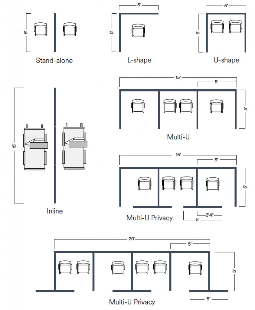 Tempwall-Configurations