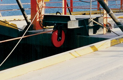 750 cable sheaves for cable ferry